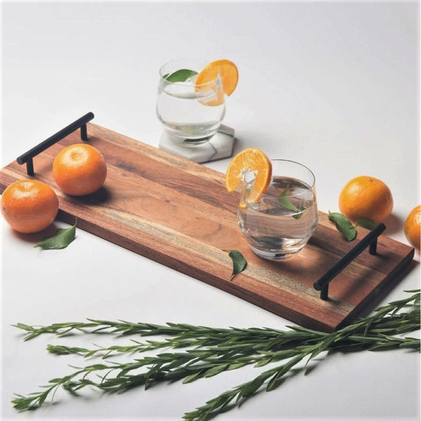 Creek Wooden Serving Tray