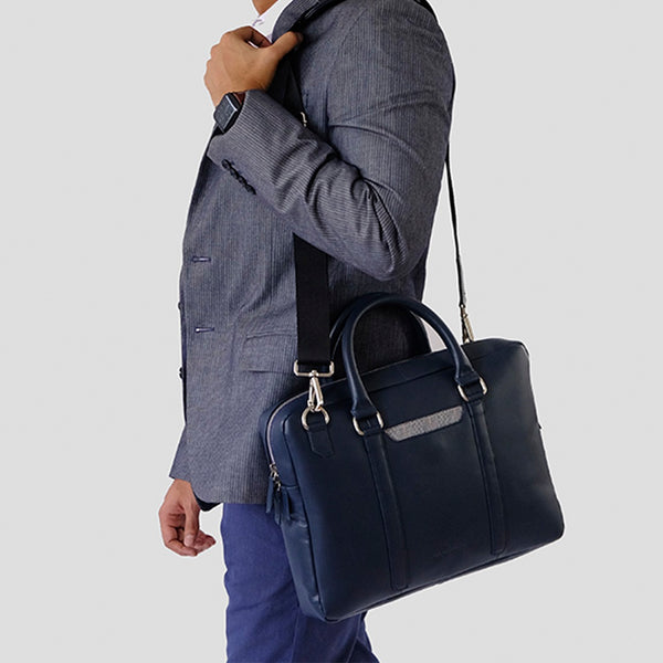 Cullen Laptop Bag 15.6 Inch - Deep Sea Blue