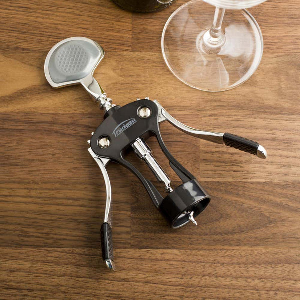 Deluxe Wing Corkscrew - Black