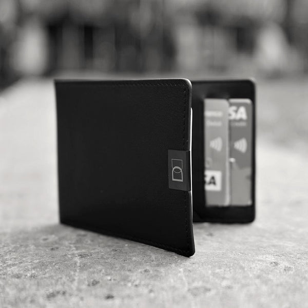 DUN Slim Wallet - Black Edition RFID
