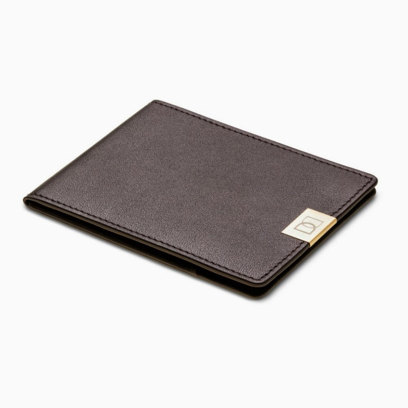 DUN Slim Wallet - Brown Gold