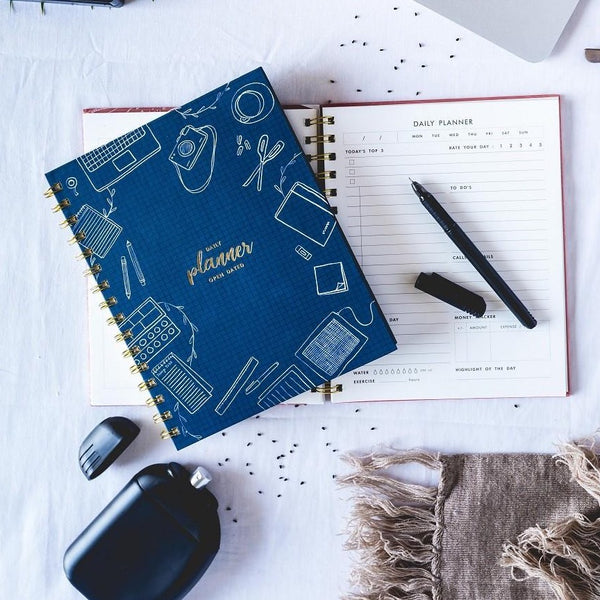 Daily Planner - Blue