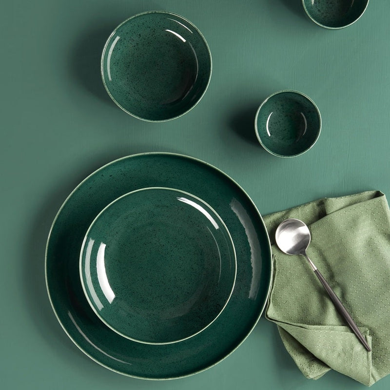 Seasons Quarter Plate - Olive Green