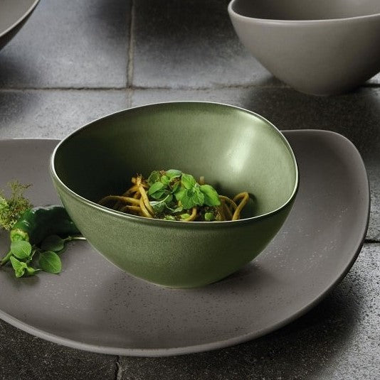 Cuba Serving Bowl - Green