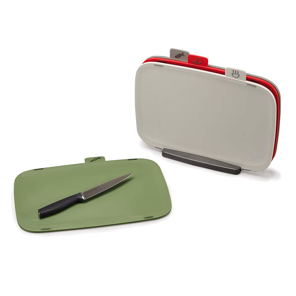 Duo 4-pc Chopping Board with Stand Set