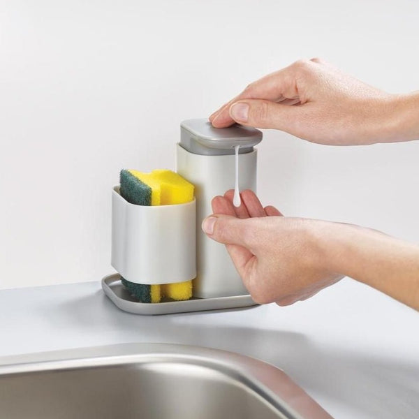 Duo Soap Dispenser with Sponge Holder