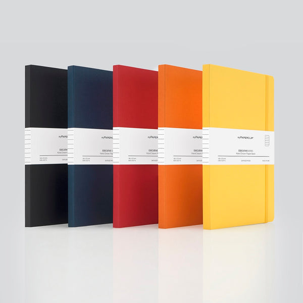 Softcover Notebooks, Executive Series - Set of 5