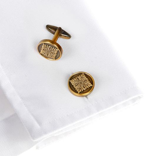 Wimbledon Cufflinks - English Tile