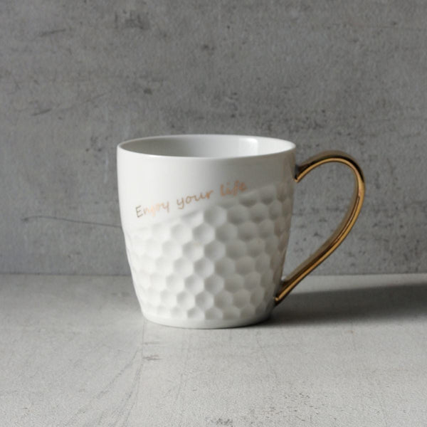 Enjoy Your Life Ceramic Mug