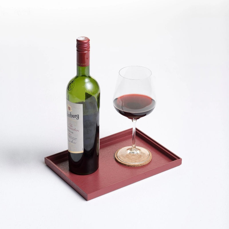 Esk Serving Tray, Small - Red