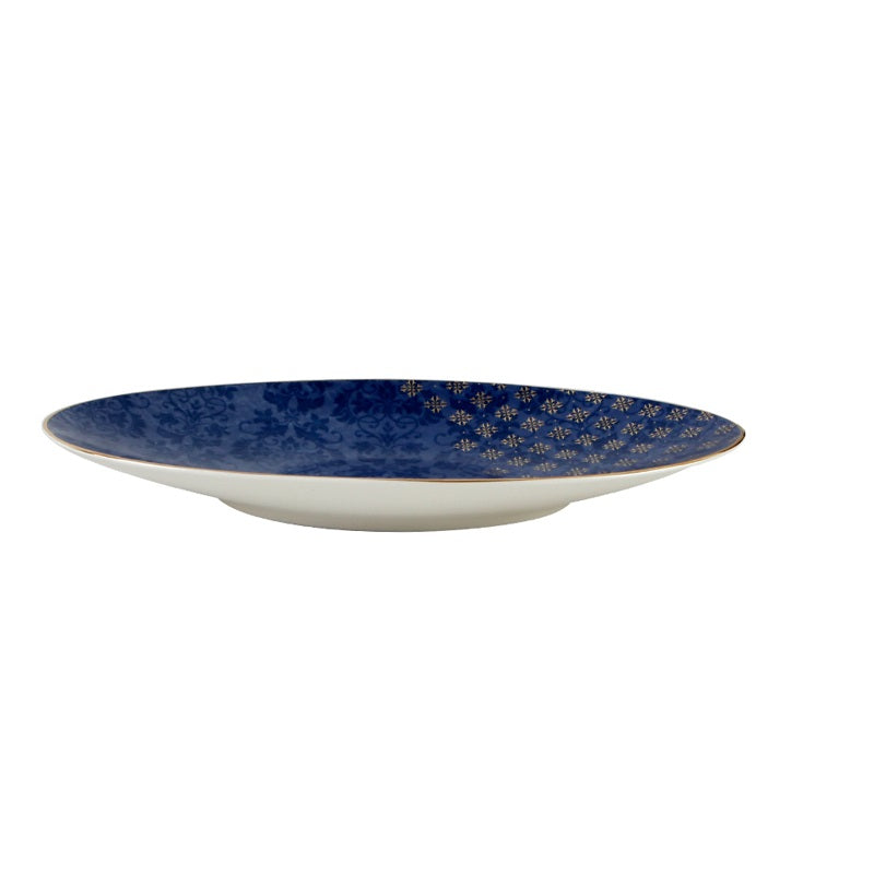 Evoke Oval Plate Medium - Midnight Blue