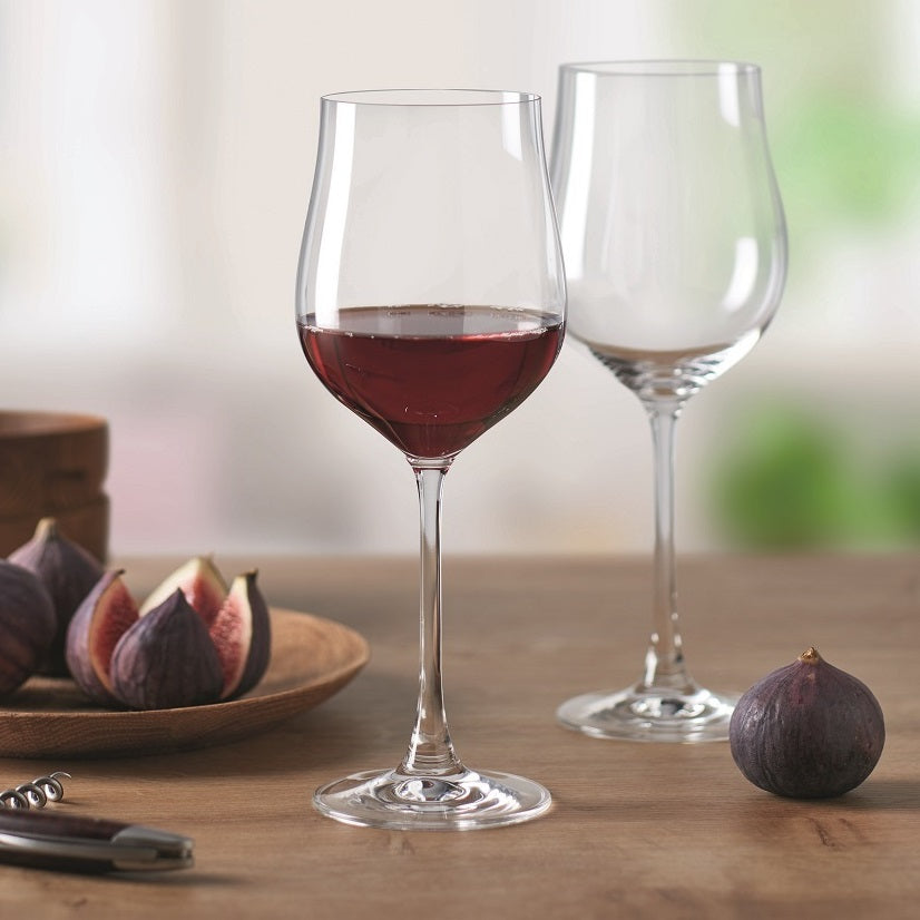 Fine Red Wine Glasses, Set of 6