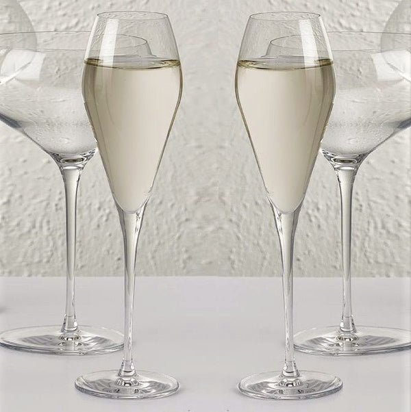 Fantasy Champagne Glasses, Set of 2