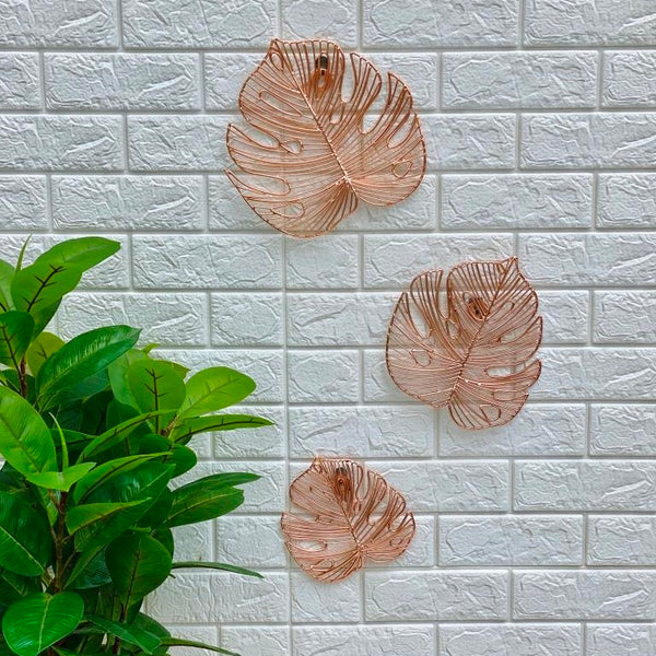 Fiji 3-piece Wall Decor - Copper