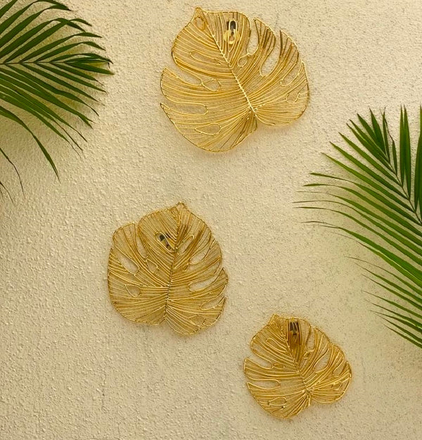 Fiji 3-piece Wall Decor - Gold