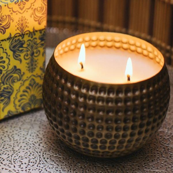 Firelight Scented Candle - White Tuberose