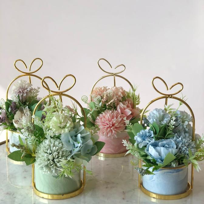 Paris Fleur Bunch Small - Pastel Pink
