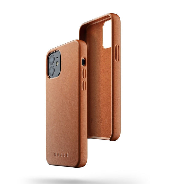 Full Leather Case for iPhone 12 & 12 Pro - Tan