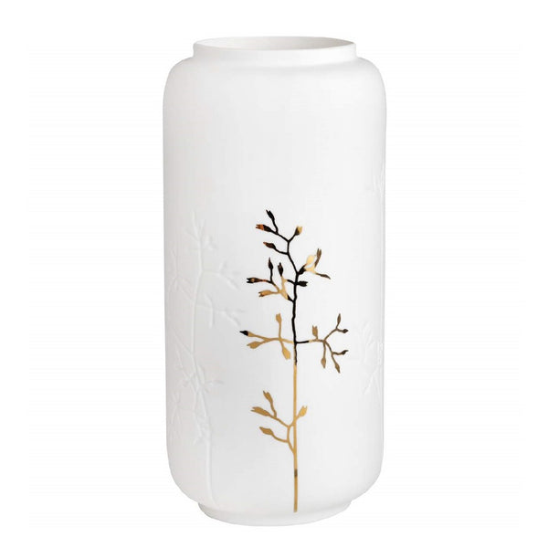 Porcelain Vase Medium  - Gold Branch
