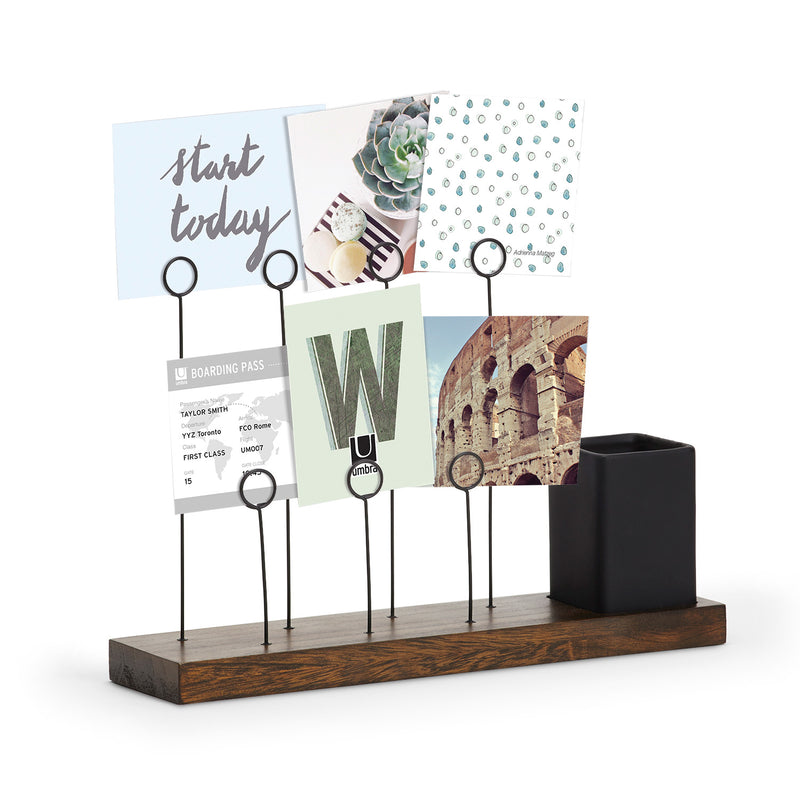 Gala Photo Display - Walnut