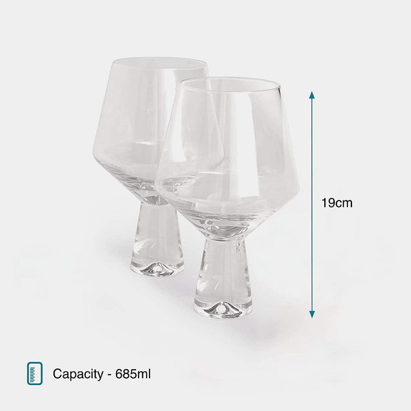 Gin Glasses Bar Gift Set