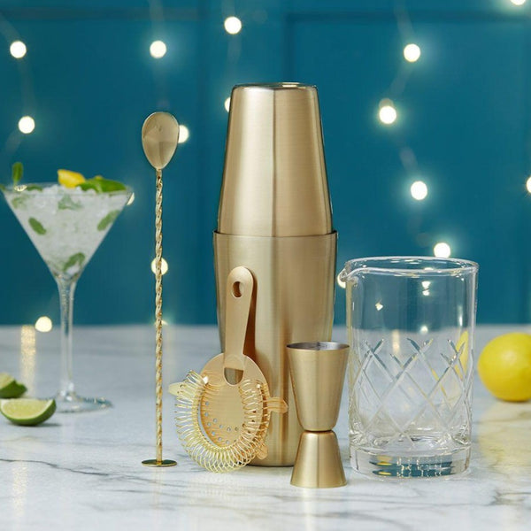 Mixology Cocktail Set - Gold