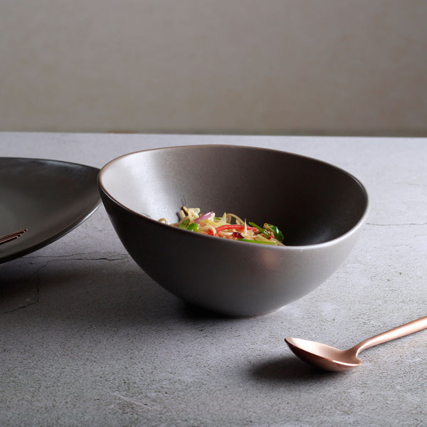 Cuba Serving Bowl - Grey
