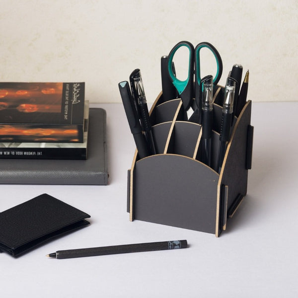Pen Holder - Grey Tower