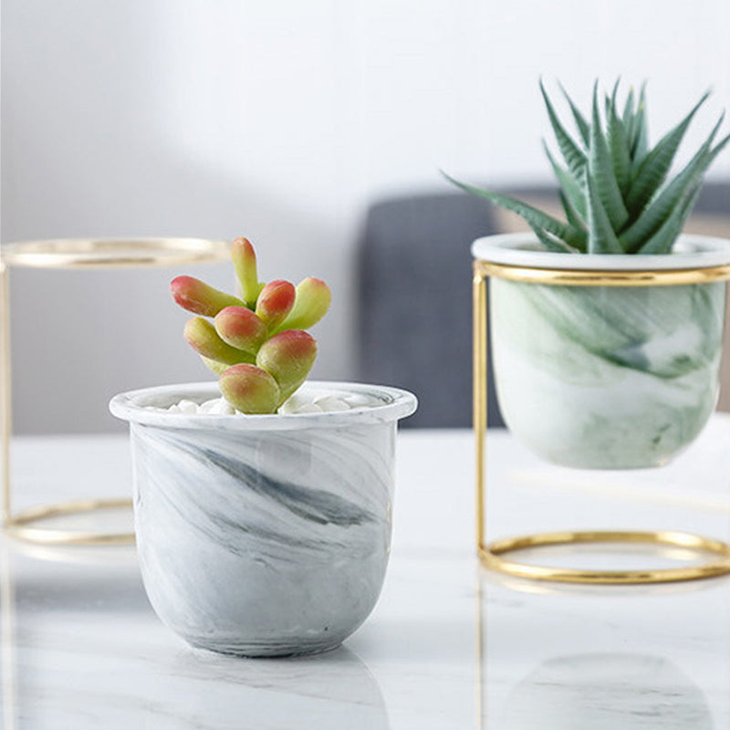 Oasis Tabletop Small Planter - Grey