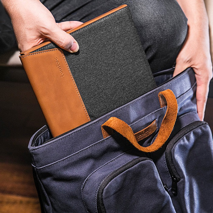 Edge Laptop Sleeve - Tan Gray for 15 Inch MacBook Pro