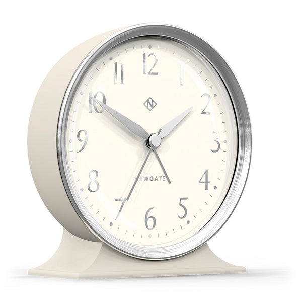 The Hotel Mantel Clock - Linen Grey