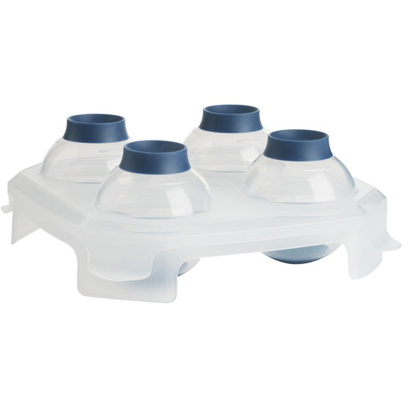 Bar Sphere Ice Tray - White Blue