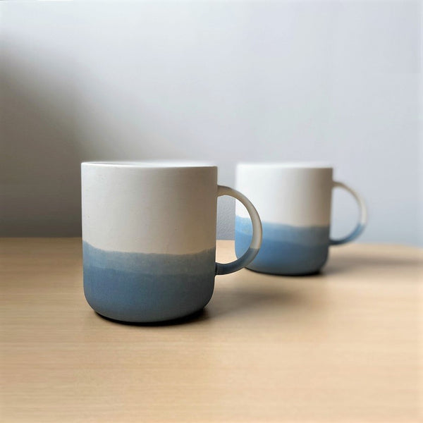 Skye Porcelain Mugs, Set of 2