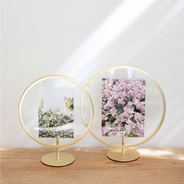 Infinity Photo Frame - Brass 4x6