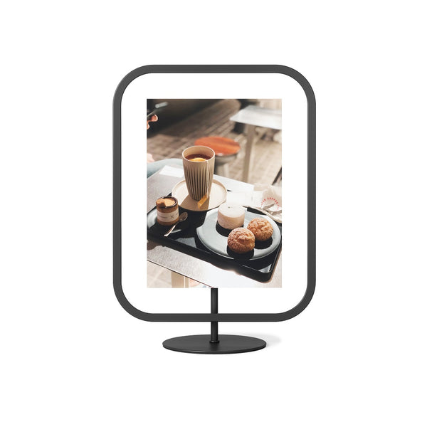 Infinity Sqround Photo Frame Large - Black