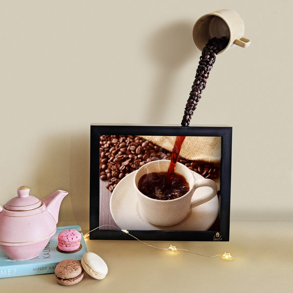 Coffee 3D Wall Art
