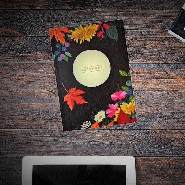Autumn Joy A5 Notebook