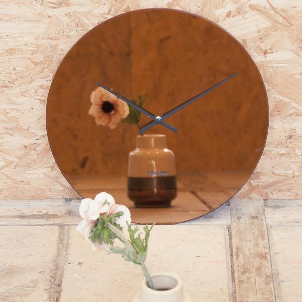 Mirage Copper Wall Clock