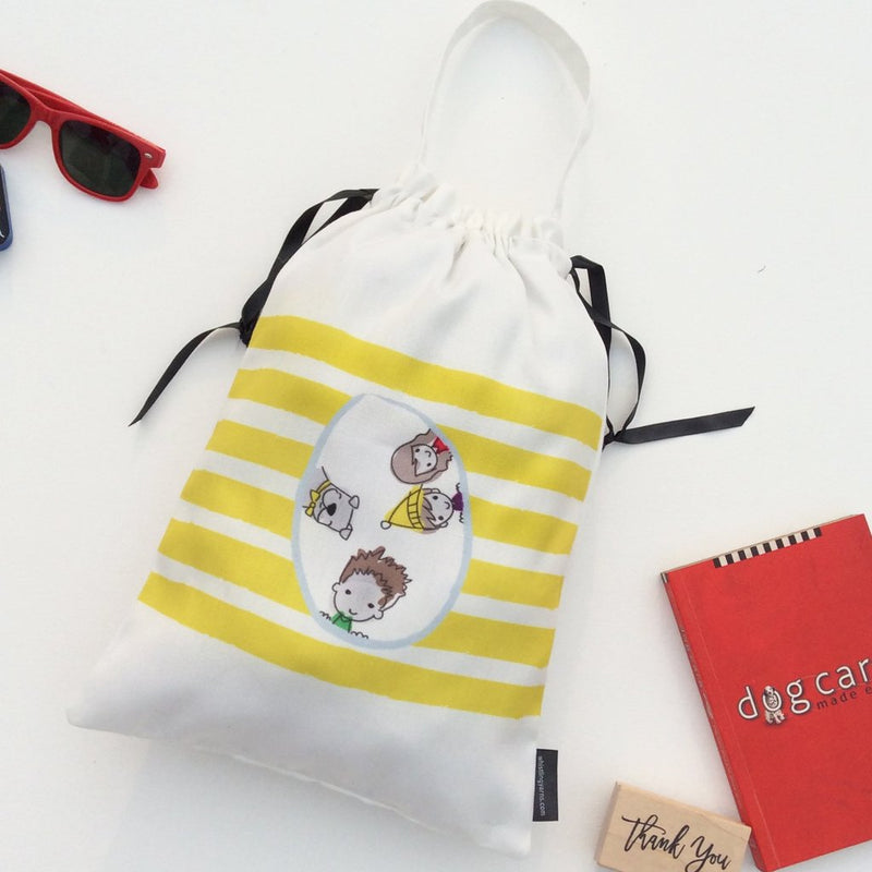 Kids Accessory Bags Sunshine, Set of 3