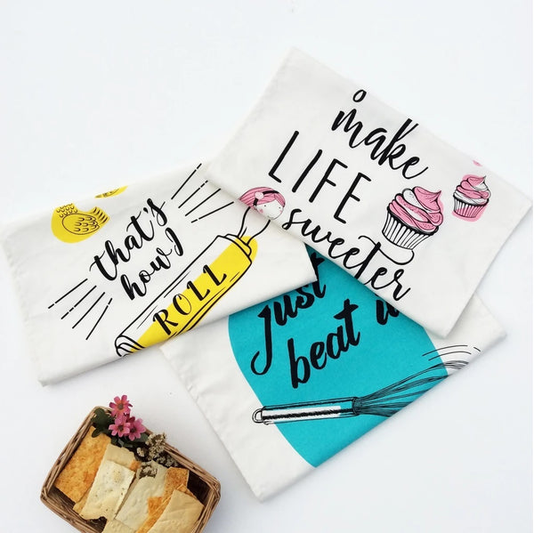Kitchen Towels, Set of 3