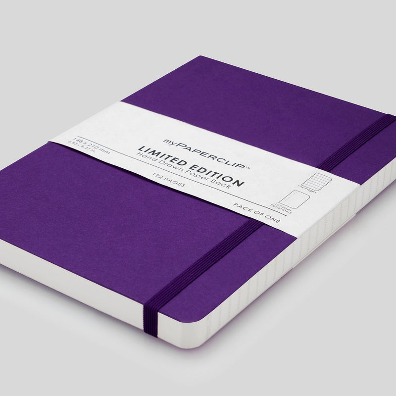 Softcover Notebook, Limited Edition - Amethyst