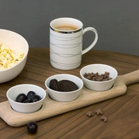 Oak Wood Paddle & Bowl Set - Modern Quests