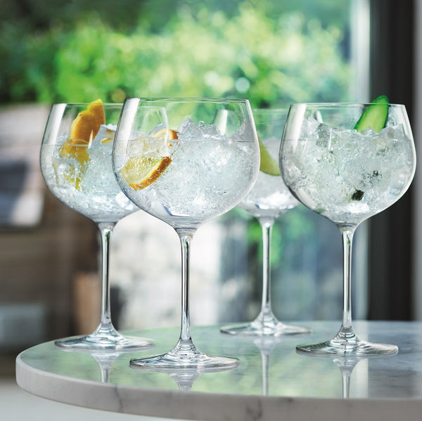 Balloon Gin Glasses, Set of 4