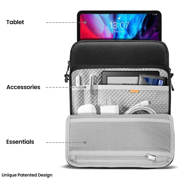 Performance 360 Shoulder Bag for iPad - Black 12.9 Inch