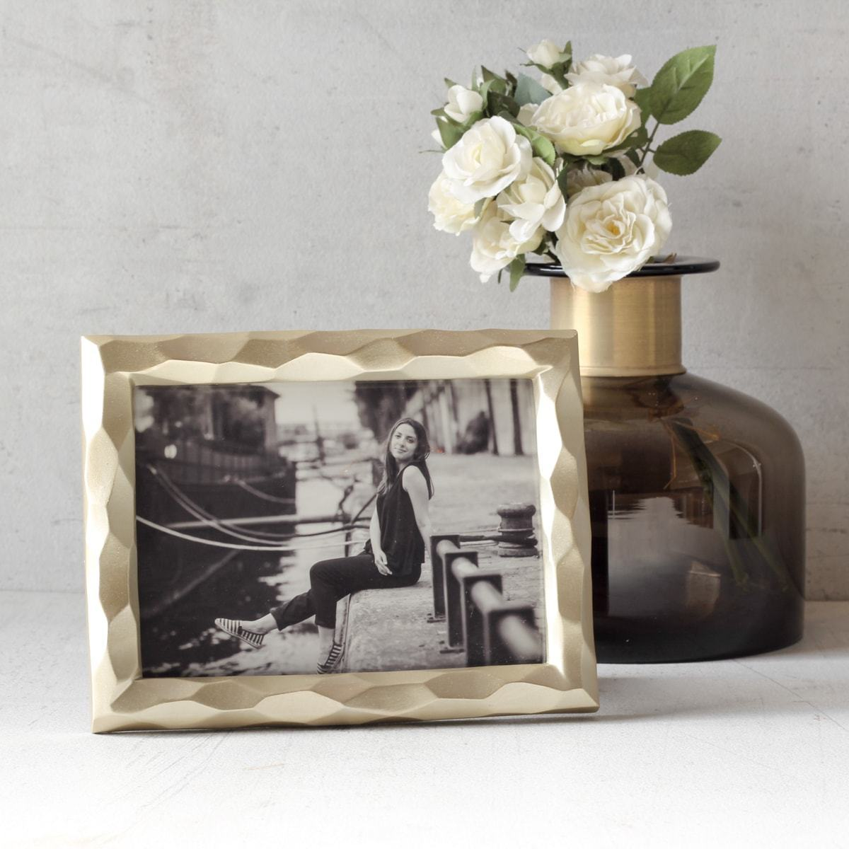 Laverne Golden Photo Frame