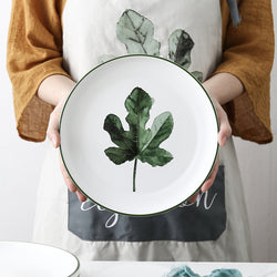 Nordic Porcelain Quarter Plate - Maple