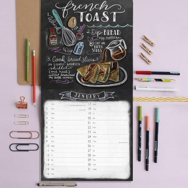 Lily & Val Recipes Calendar