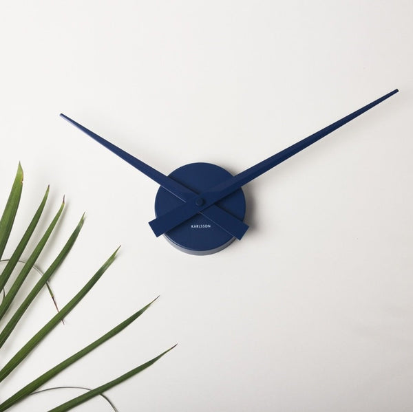 Little Big Time Blue Wall Clock