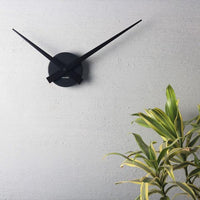 Little Big Time Black Wall Clock