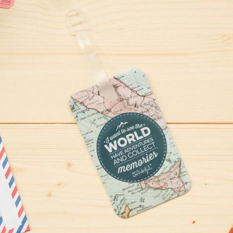 Luggage Label - See the World